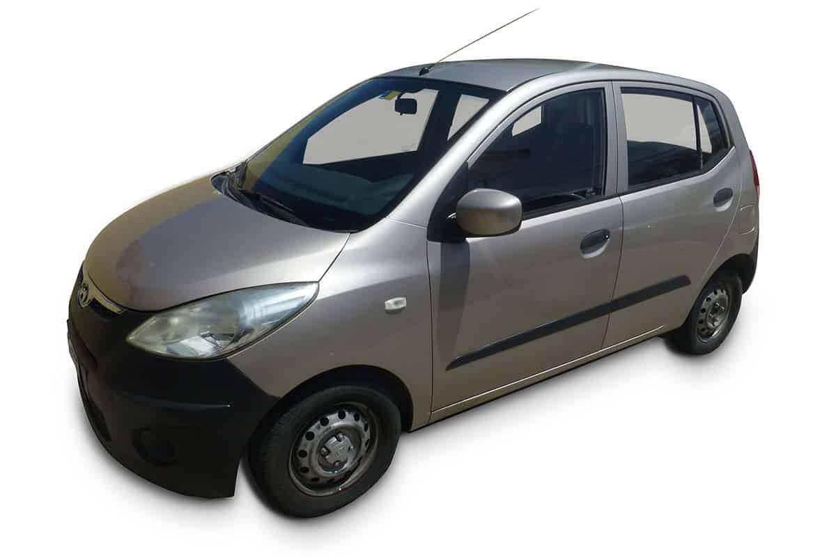 Hyundai i10 categorie B Goed en Goedkoop Autohuren Curacao